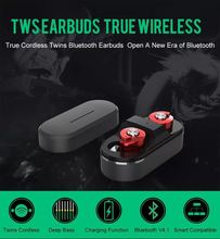 Best compatibility Twins earbuds Bluetooth V4.1 earphone with charging case