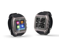 Android 4.4 GPS+GSM/WCDMA+3G+SIM+Compass+Heart Rate+G-sensor Android 3G Smart Watch Phone Android WiFi GPS