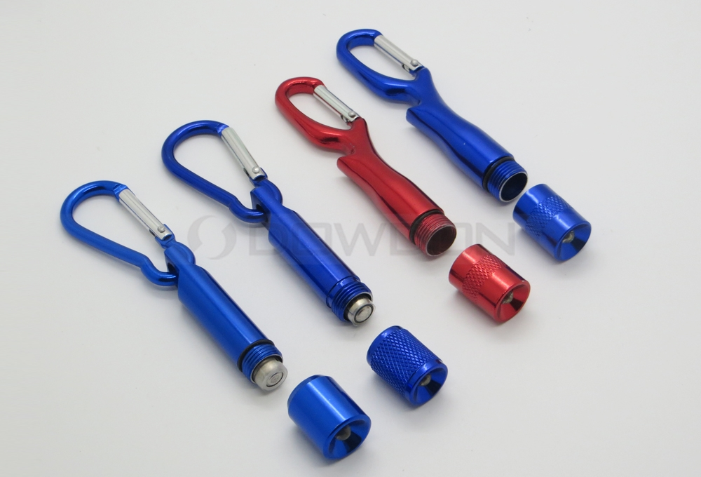 Promotion Gift LED Keychain Light Metal Mini Torch