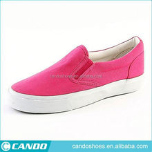 low price stock shoe hot selling casual canvas sneakers manufacturer
