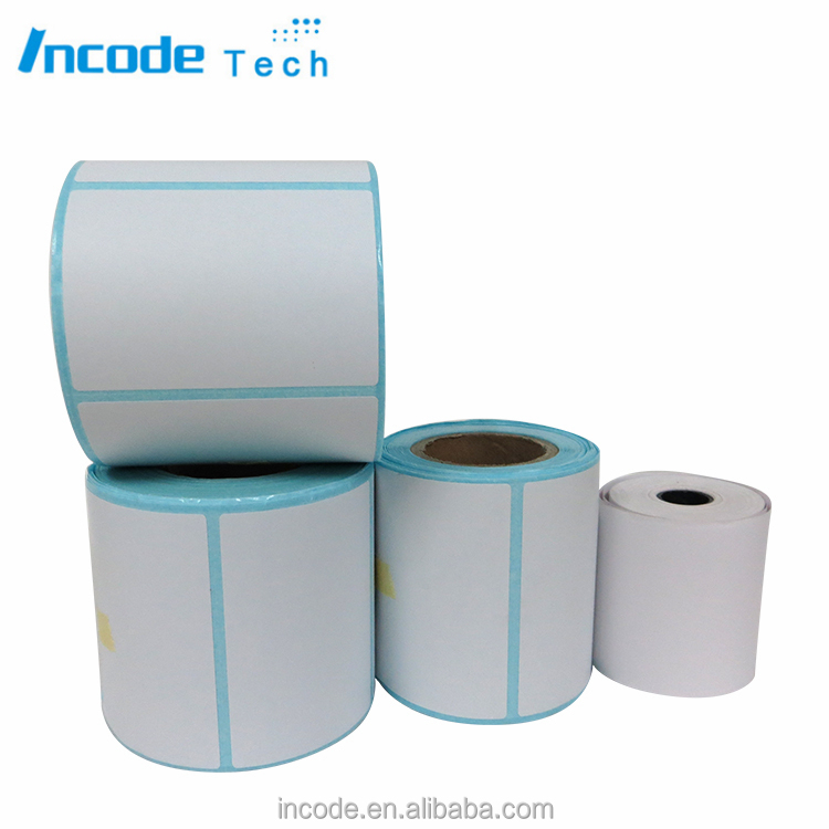 Directly Thermal Paper Label Rolls/self-adhesive paper label printing paper at different size