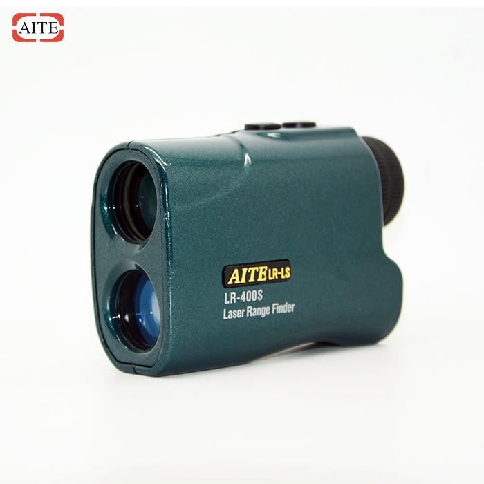 6*24 400m laser distance measure device with speed meter
