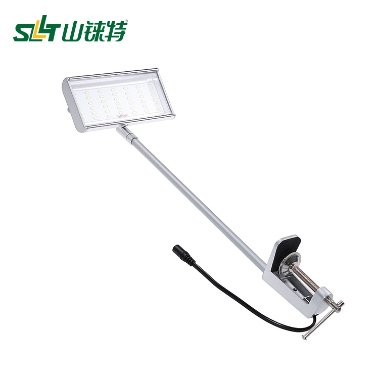 LED flood light for trade show booth, Universal Clamp display arm light for exhibition SL-025--08-42L--Vivien