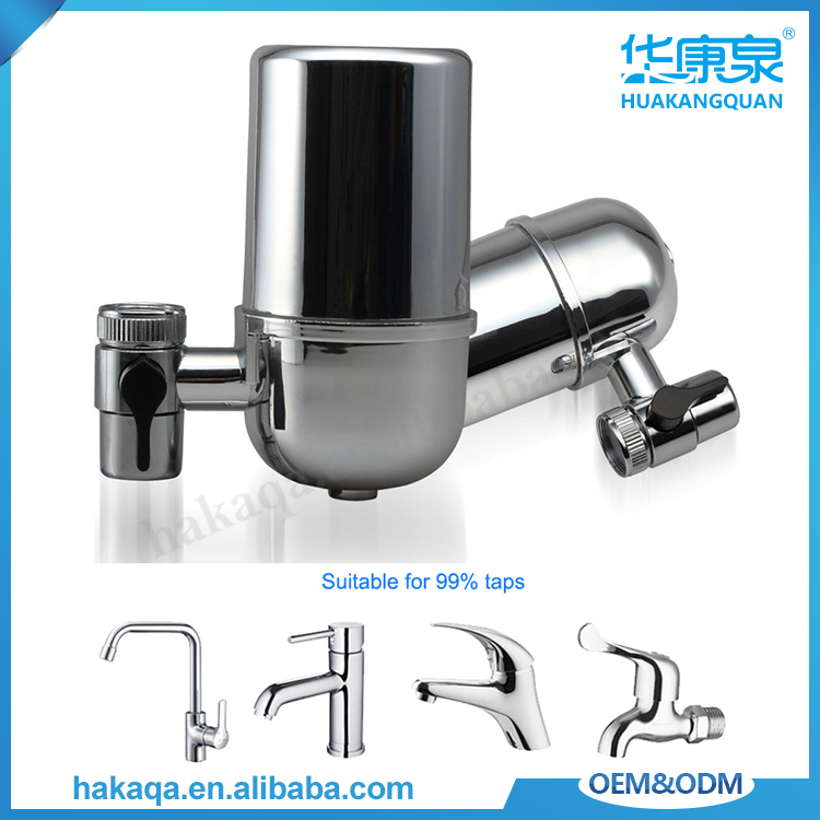 China manufacturer household kitchen nano-silver carbon coconut fiber water filters