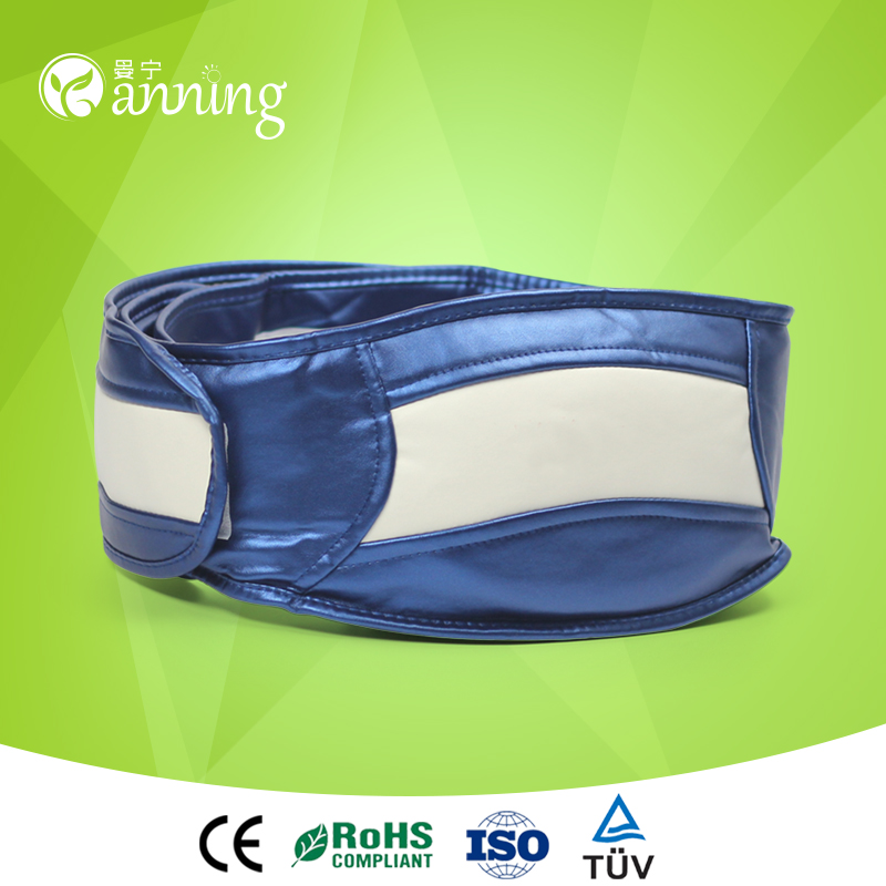 Great price vibrator shape slimming belt,stomach slimming belt with strong motors,body massager physical therapy waist slim belt
