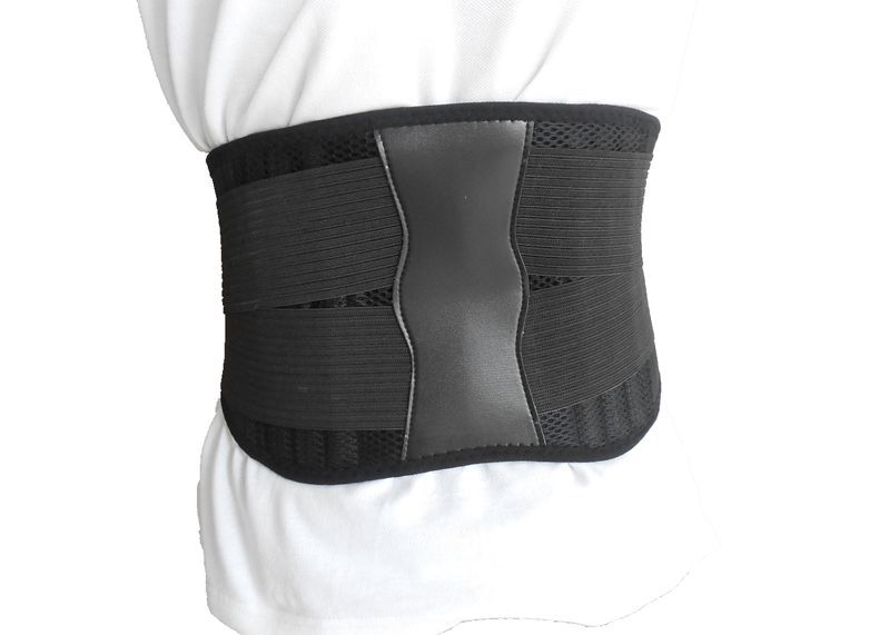 2017 hot sale Double pull medical 6 bone neoprene adjustable back support belt for pain