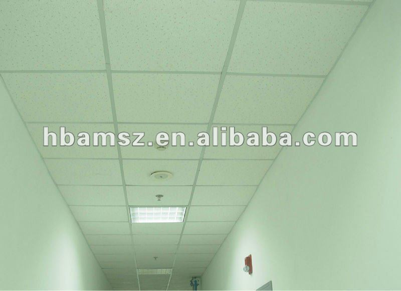 fire resistant mineral fiber ceiling decoration material