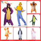 2017 hot one piece adulte thermique salopette animal costumes PGWC-0897