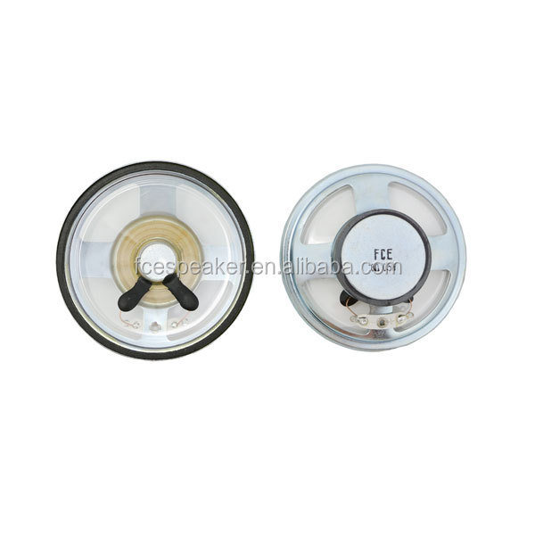 66mm 8ohm 0.5w outdoor waterproof mylar speaker