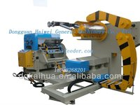 uncoiler decoiler with NC roll feeder and straightener feeder 3 in 1