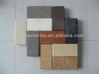 colors clay chimney brick