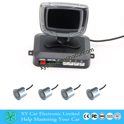 Best-selling universal high quality color LCD display car ultrasonic sensor /car parking sensor system XY-5206