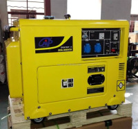 Big power 6kw portable silent diesel generator 6kw soundproof generator