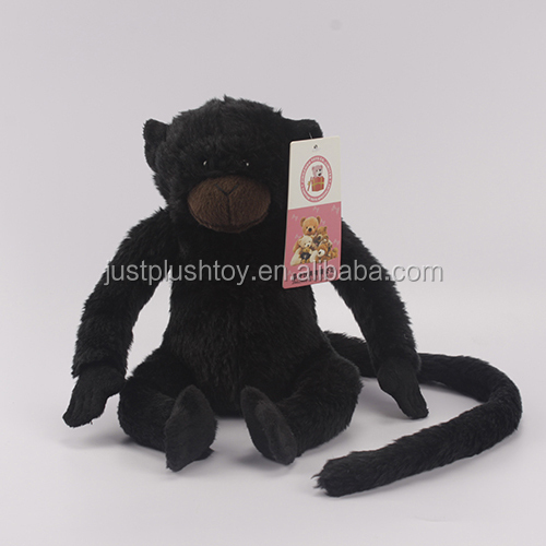 Good Service 100% Polyester Printing Stuffed Mini Size Animal Toy Plush Long Arm Monkey