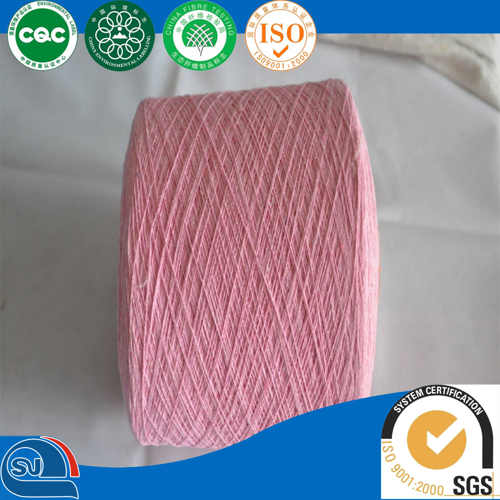 32s viscose cotton blend melange yarn for knitting in china