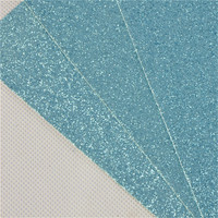 advanced Taiwan Machines shinning design ocean glitter paper ,blue glitter paper