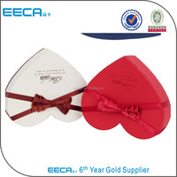 Luxury Handmade Decorative Heart Shaped Custom Chocolate Packaging Boxes for Gifts Chocolate