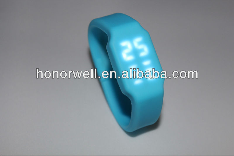 lovely usb LED watch flash disk for gift accept custom logo