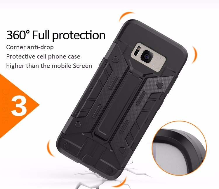 Newest Arrival smart protective accessories and phone case for samsung galaxy s8 plus