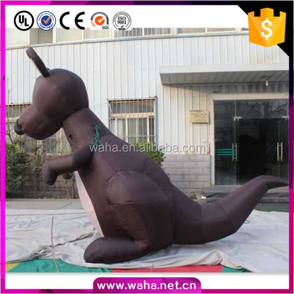 giant inflatable kangaroo for outdoor advertising
