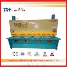 High effciency cnc guillotine shearing cutting metal machine for iron used with fully automatic