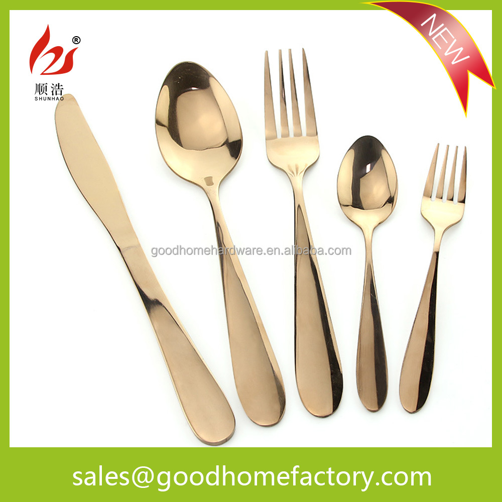 restaurant cutlery sets with knife fork spoon