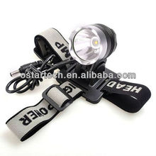 Powerful 10-Watt LED Cree XM-L T6 Headlight/Bicycle Light