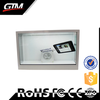 wireless lcd advertising screen transparent video screen touch screen