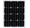 50W Mono crystalline module with high efficiency sunpower cell for solar street light