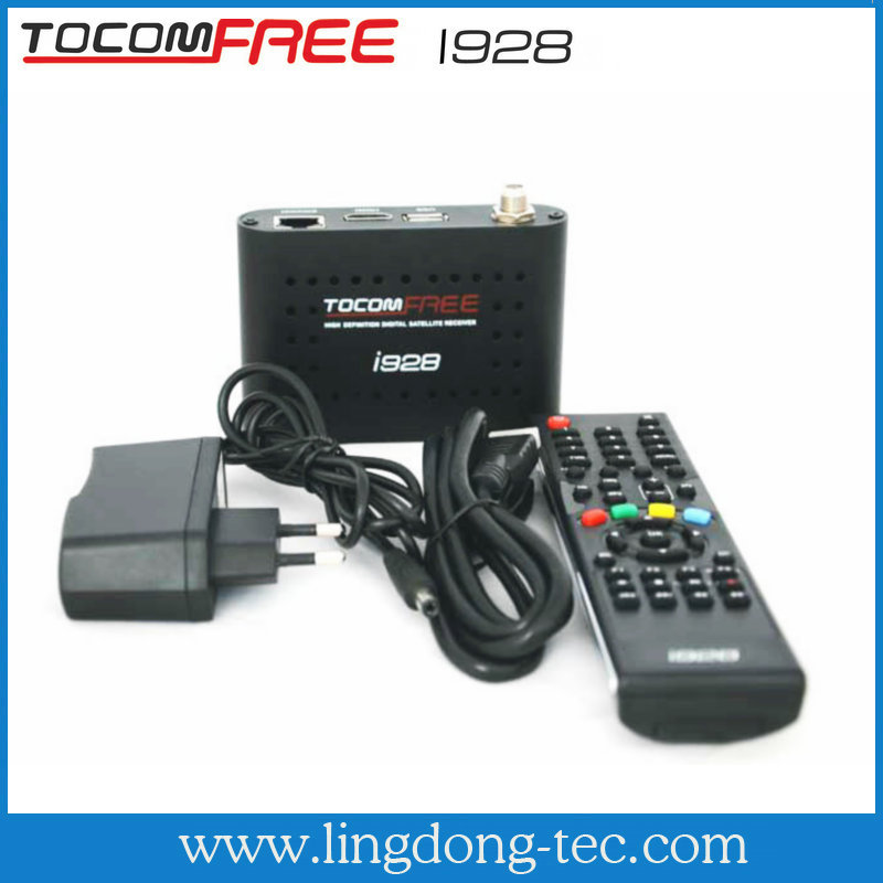Original Tocomfree i928 nagra 3 with sks iks for south america receptor satellite hd