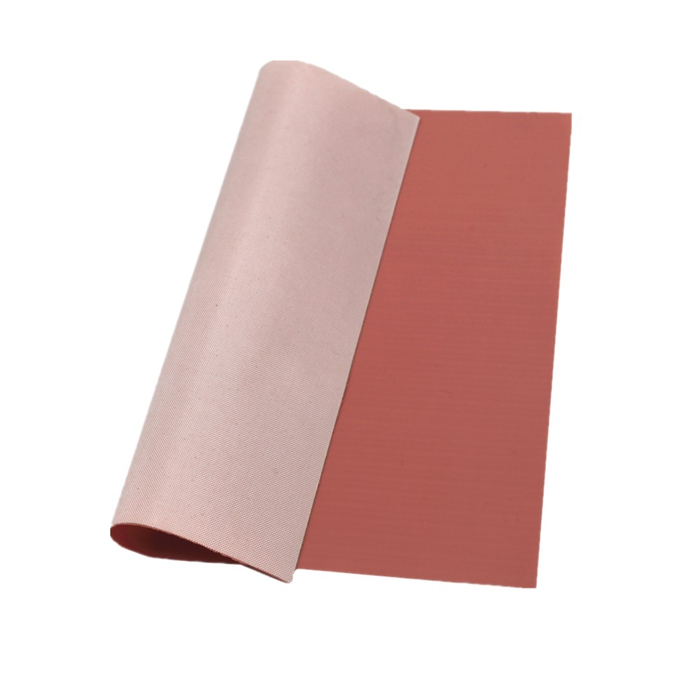 Silicone rubber coated thermal conductive fiberglass fabric cloth