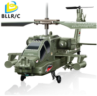 SYMA S109G Mini 3.5CH RC Helicopter AH-64 Helicopter Gunships Simulation Indoor Radio Remote Control Toys for Gift