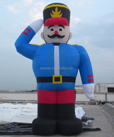 Custom Inflatable Soldier, Giant Inflatable Military Officer Balloon Character