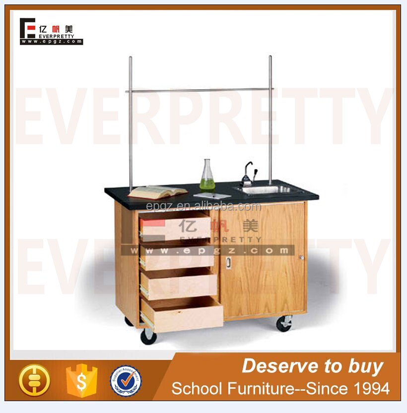 Hot Sale Used School Lab Furniture / Lab Equipment Steel Work Bench At Cheap Price