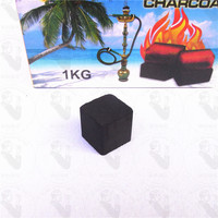 TTAN1070 coco charcoal blue box coal fire Imports to design a single-tube Hookah Shisha charcoal coconut charcoal