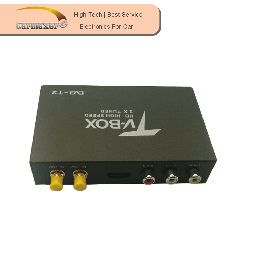Hot! HD mobile digital TV receiver digital terrestrial receiver scart dvb-t receiver for car