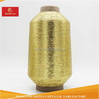 For Morocco Egypt Brazil Gold Mx-TYPE Metallic Yarn Lurex Yarn with high quality