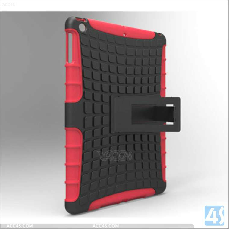 2 in 1 Robot Silicone PC case for iPad air P-iPAD5HCSO001