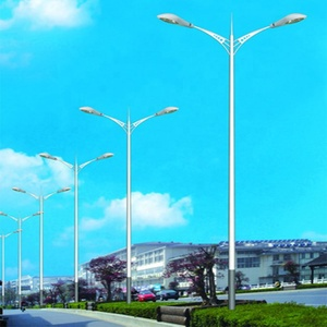 Widely Used With Single/Double Arm Stainless Steel Street Light Pole
