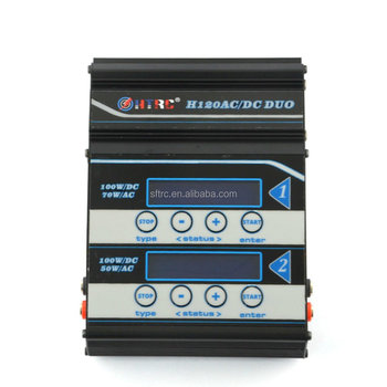 New High Quality , H120ACDC DUO port RC Lipo Battery Balance Charger