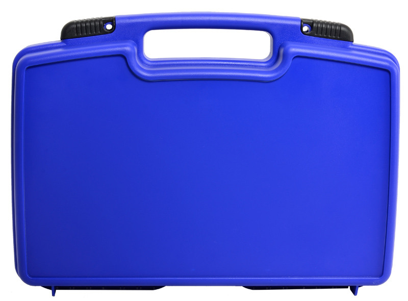Black Flip Lock Plastic instrument Case with foam