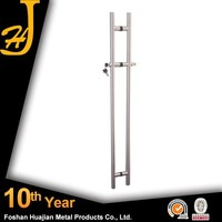 Swing Glass Door Stainless Steel Double Garage Door Lock Handle