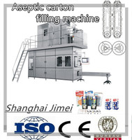 Aseptic carton milk filling and packing machine(Shanghai Jimei)