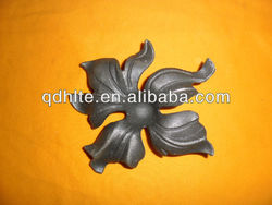 house building decorative cast iron leaves and flowers