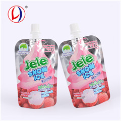 Drink Mix Stand Up Spout Pouch Milk Packaging Plastic Bag For Customized