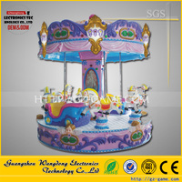Amusement park Three small bee carousel for sale/3 seats mini carousel for sale