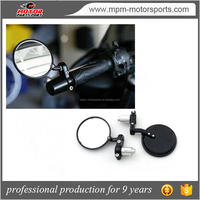 Motorcycle Handle Bar End Rearview Mirrors for Harley
