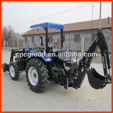 4WD EPA cheap chinese tractor with loader for sale