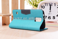 portable PU wallet phone case for Samsung S5 i9600