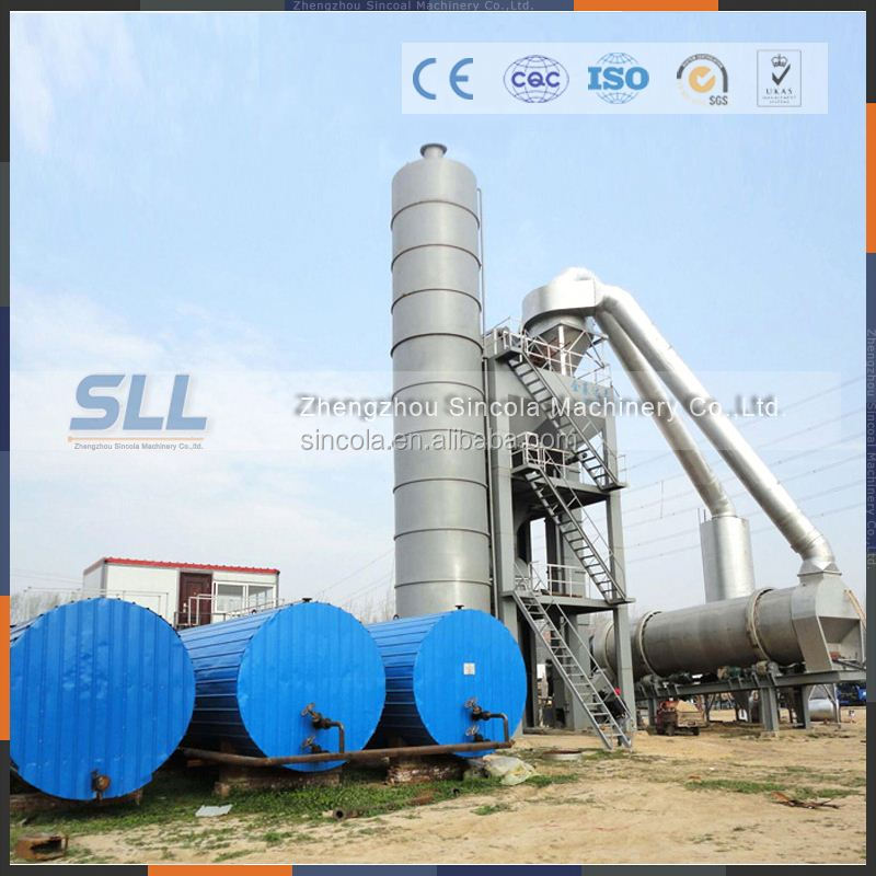 high efficiency 100 tph hot asphalt aggregate mixing plants for sale